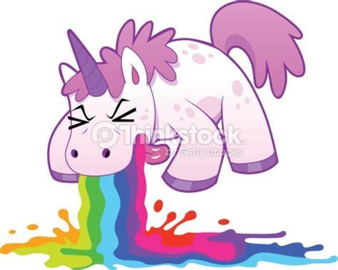 imagenes de unicornios vomitando arcoiris unicorn puking rainbow vector art thinkstock
