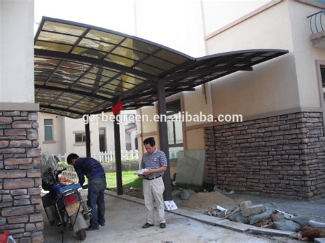 Tenda Garasi Mobil polikarbonat garasi mobil tempat tinggal cuci mobil tenda outdoor aluminium mobil parkir