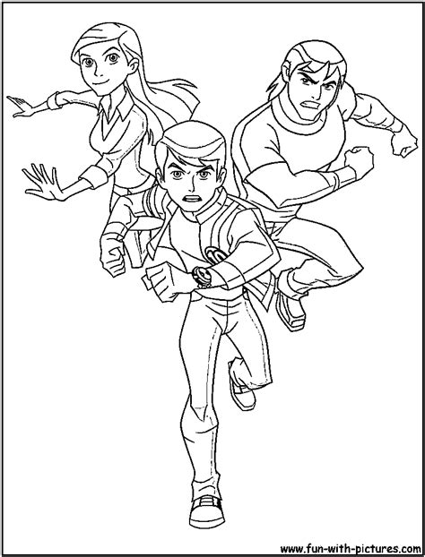 ben ten coloring pages ben 10 ultimate goop coloring pages