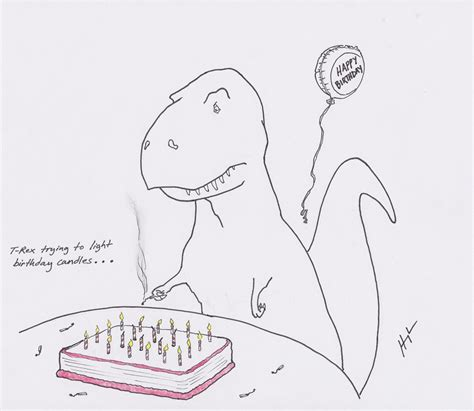 T Rex Birthday Meme - shortbread t rex cookies