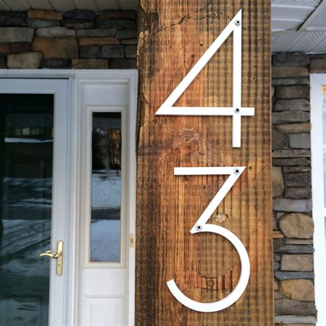 large modern house numbers large modern house numbers modern house
