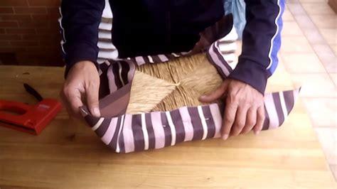 como tapizar una silla en  minutos youtube