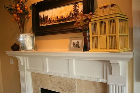 diy fireplace mantel and surround home fireplace