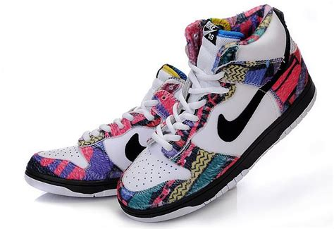 nike colorful sneakers nike 313171 nike dunk sb classic high top shoes colorful