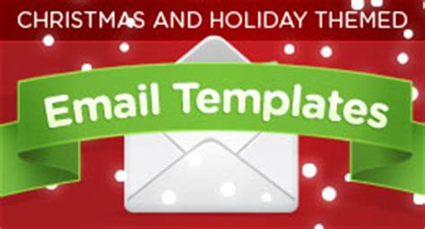 christmas themes outlook email christmas email templates on themeforest