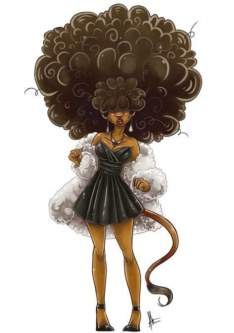 create hair sculptures black elegant afro by yuramec visit fuckyeablackart tumblr com