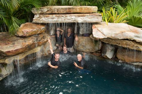 Designer Pools by Insane Pools Off The Deep End Tv Series Lucas Lagoons