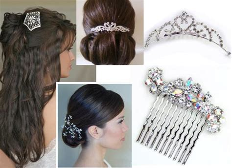 Wedding Hairstyles With Comb Veil by Hair Combs Wedding Wedding Hairstyles With Veil