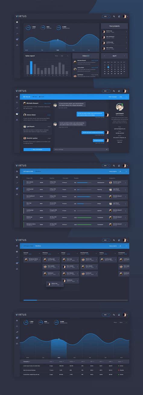 Free Dashboard Ui Design Psd Css Author Ui Design Templates Free