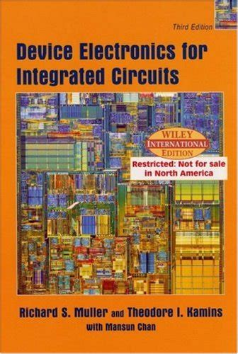device electronics for integrated circuits by muller and kamins device electronics for integrated circuits muller 28 images tsi721 16gil idt integrated