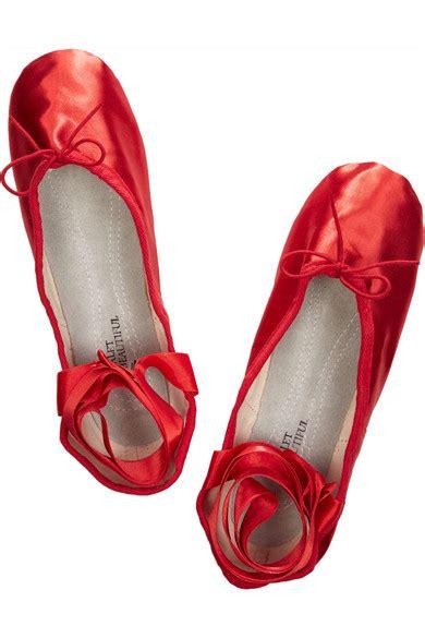 satin ballet slippers ballet beautiful satin ballet slippers net a porter