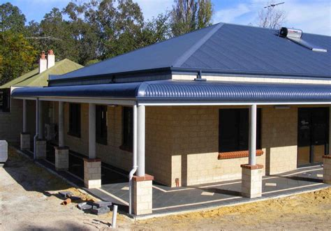 building onto your house adding value to your home build a bullnose verandah
