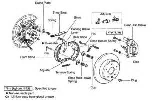 Rear Brake System Diagram Where To Get This Rear Brake Drum Shoe Hardware