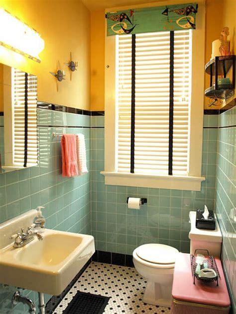 retro tiles bathroom kristen and paul s 1940s style aqua and black tile bathroom built from scratch