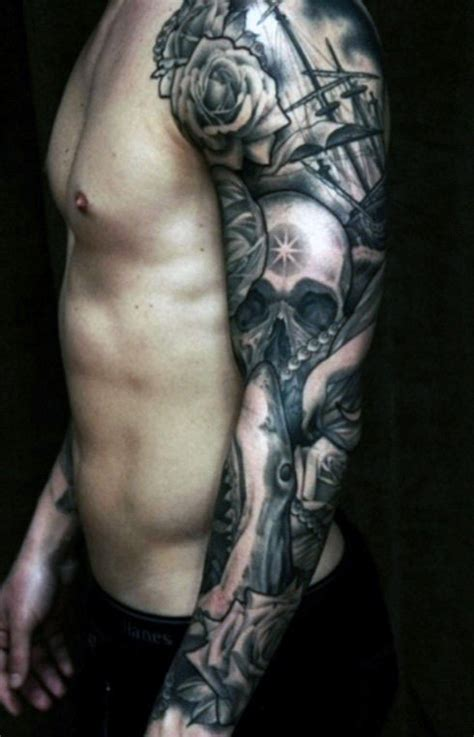 cool arm tattoos  guys manly design ideas