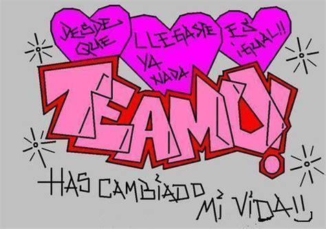 graffitis que digan andrea te amo imagui dibujos en graffiti de te amo imagui
