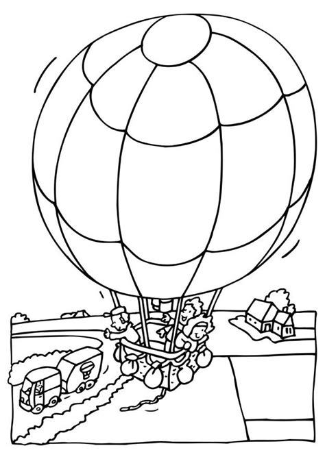 coloring page for hot air balloon free printable hot air balloon coloring pages for kids