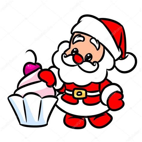 imagenes de santa claus para blackberry dibujos animados de cereza de la torta de navidad santa