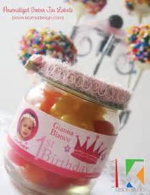 Birthday Favors For Babies by Diy Favor Ideas Personalized Gerber Baby Jar Or