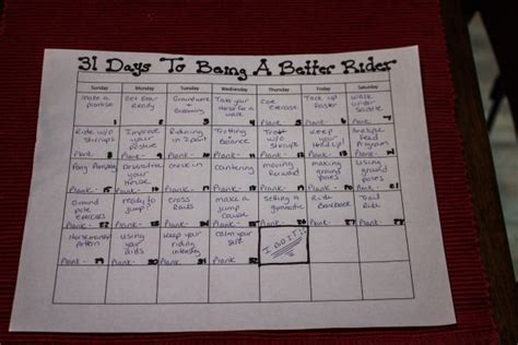 becoming a better me 31 days of acts books 31 days to becoming a better rider day 2 planning