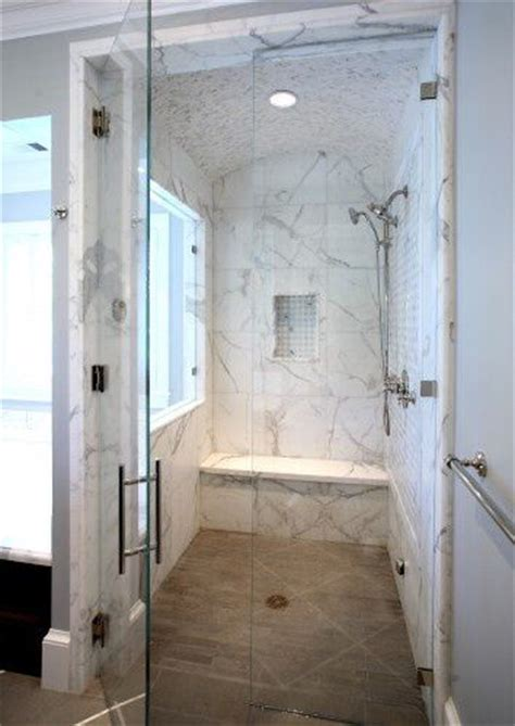Zero Entry Shower by Zero Entry Marble Shower Home Sweet Home