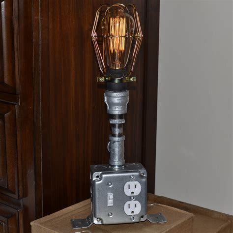 upscaled recycled industrial l home decor lighting