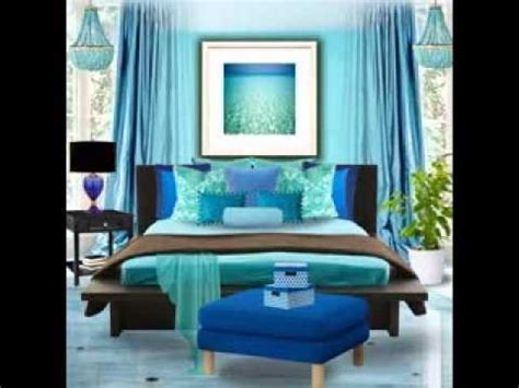 Aqua Themed Bedroom by Turquoise Bedroom Decorating Ideas