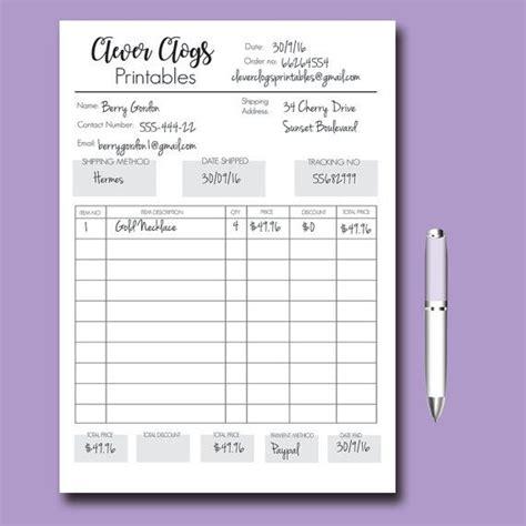order form customizable order form branded