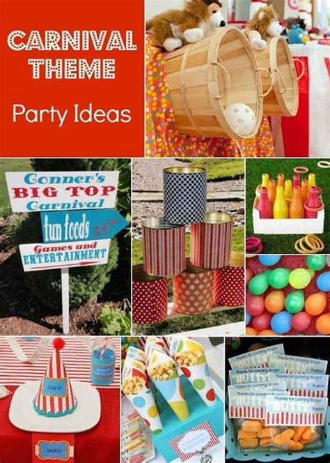 carnival themed birthday games summer birthday party themes homes com