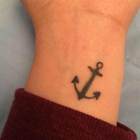 anchor tattoos on wrist 1000 ideas about anchor tattoos on tattoos