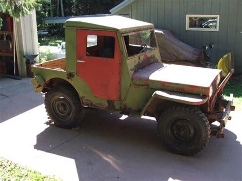 1945 willys jeep parts 1945 willys jeep cj2a pto capstan winch