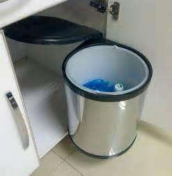 poubelle de cuisine ronde encastrable 14 litres cacpo002