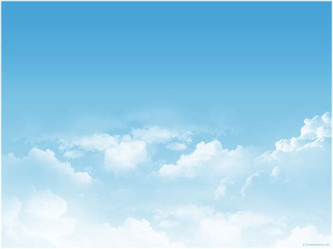 cloud powerpoint template sky clouds ppt template 171 ppt backgrounds templates