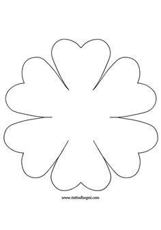 sagoma fiore da ritagliare disegni forme da ritagliare cerca con disegni