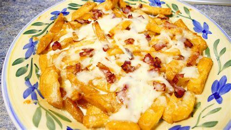 recetas faciles de cocina y economicas patatas con queso y bacon recetas de cocina faciles