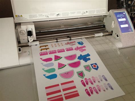 Paper To Make Stickers - best printer for silhouette cameo or portrait cutting