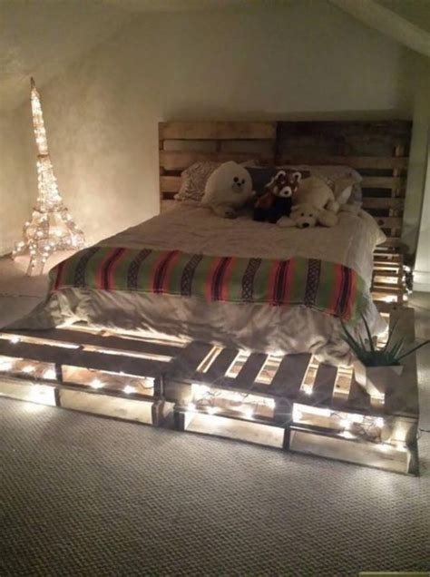 bed with lights underneath 12 genius ideas for pallet bed with lights underneath