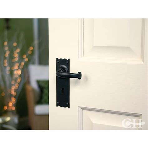 From The Anvil 73106 Cottage Lever Handles On Keyhole Lock Cottage Door Furniture