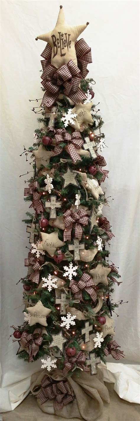 prim tree gifts home decor primitive christmas tree madinbelgrade