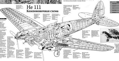 he sections heinkel he 111p h