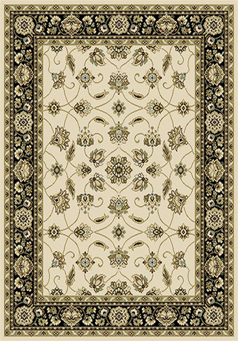 Rug Border by Traditional Vines Area Rug 8x11 Border