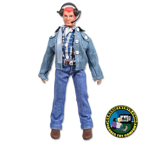 Figure Pilot 8 inch helicopter pilot figure with hair