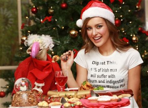 what do you get if you eat christmas decorations average will eat 6 000 calories on day 183 thejournal ie