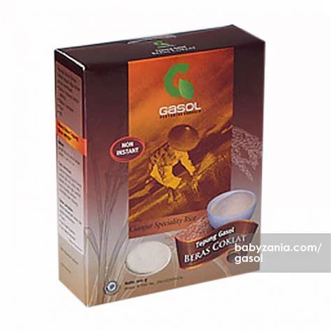 Gasol Tepung Beras Cokelat Organik jual murah tepung gasol beras coklat makanan di