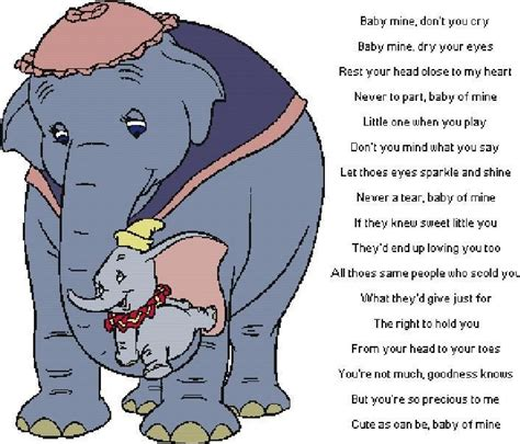 baby mine dumbo as a baby dumbo quot baby mine quot by alcnaurewen