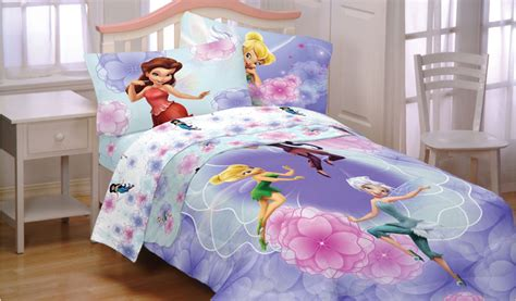 tinkerbell bedding new 4pc disney fairies tinkerbell frolic twin bedding set fairy comforter sheets ebay