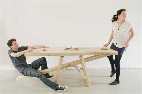 see saw bench see saw table by marleen jansen