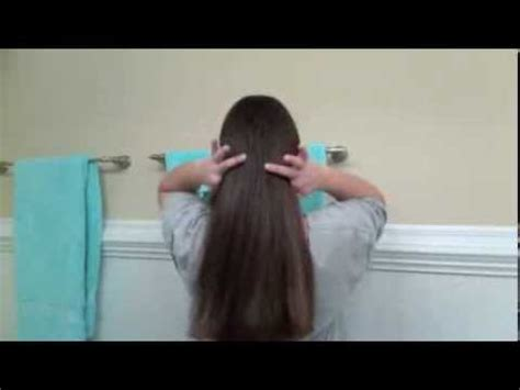 easy how to cut your own hair straight across youtube