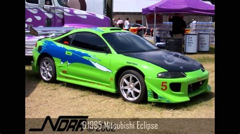 fast and furious 1 cars top 10 fast and furious cars hd youtube