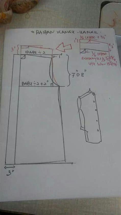 cara membuat pola baju jubah kanak kanak 21 best cara jahit leher kurta images on pinterest